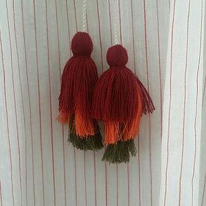 Velvet by Graham & Spencer Tops - Velvet by Graham & Spencer Embroidered Boho Blouse